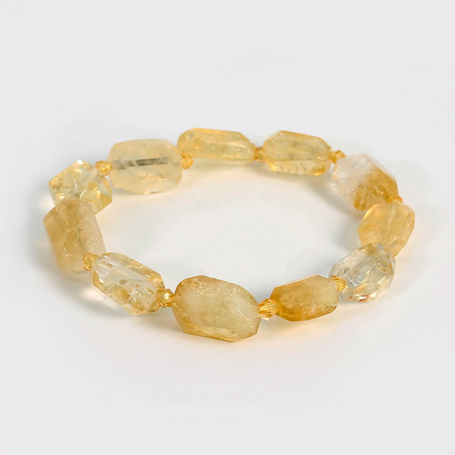 Citrine and Simulated Yellow